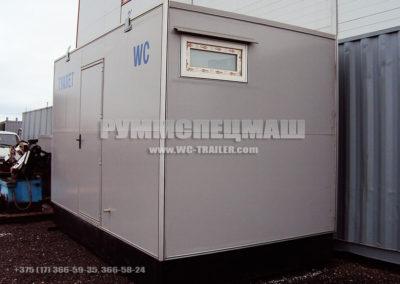 Модульное здание - Блок контейнер туалет
