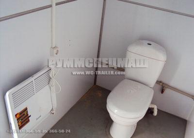 Модульное здание - Блок контейнер Автономные туалетные модули