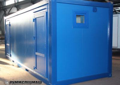 Модульное здание - Блок контейнер душевая